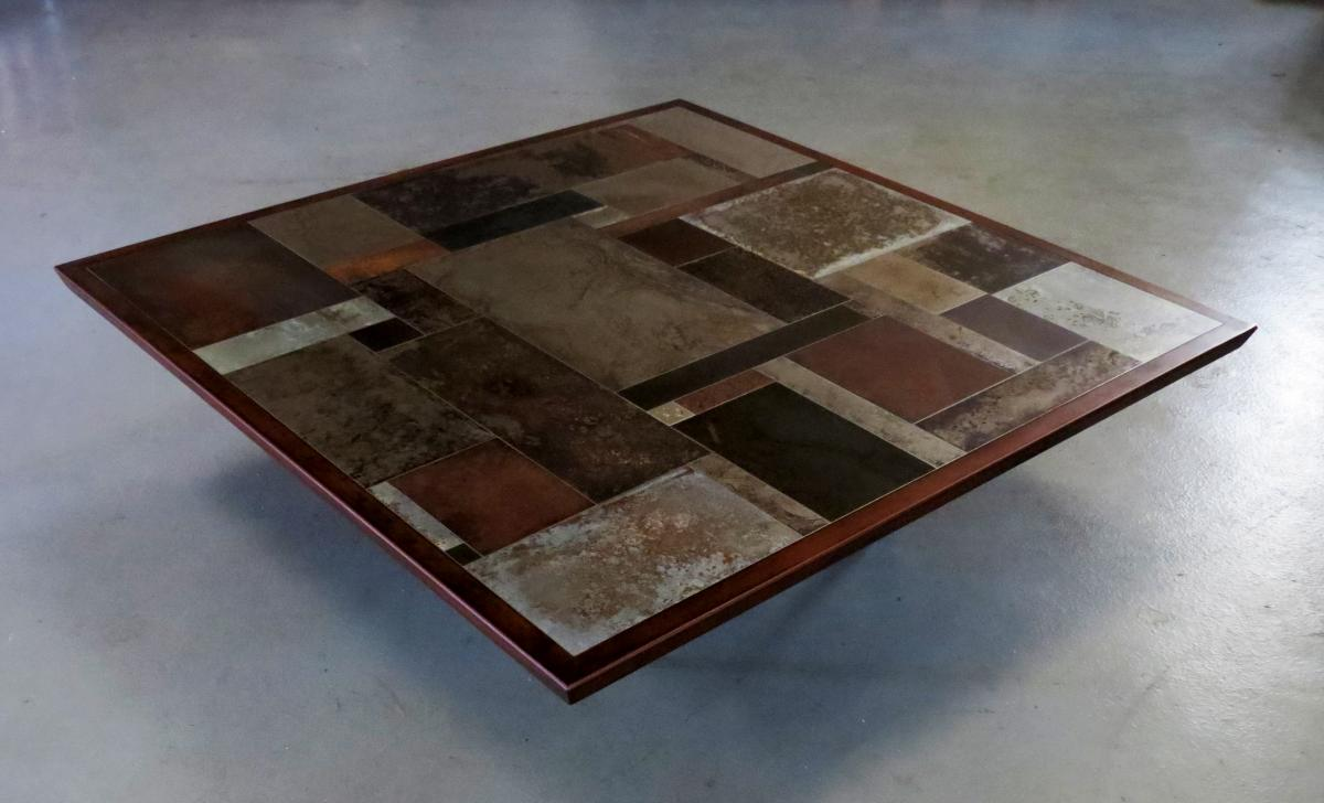 MARC BEDIKIAN PATCHWORK TABLE BASSE DESIGN
