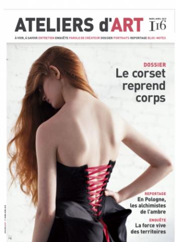 Interview pour le magazine ATELIER d'ART